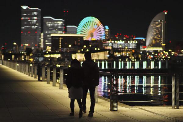 横浜で出会い系サイトを使って出会ったカップル