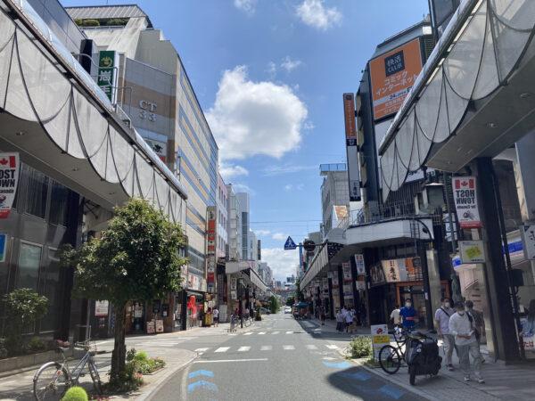 盛岡大通商店街