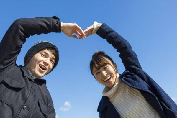 富山県で出会い系アプリで出会ったカップル